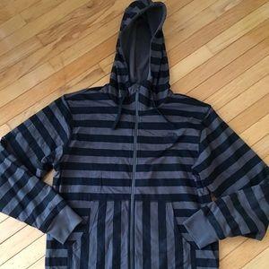 Northface hooded zip up